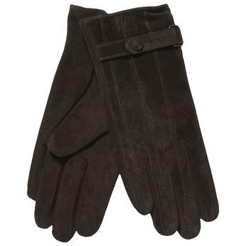Damen-Lederhandschuhe mit einem Gurt bata, Braun, 903-4100 - 13