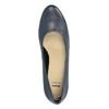 Lederpumps bata, Blau, 624-9601 - 19