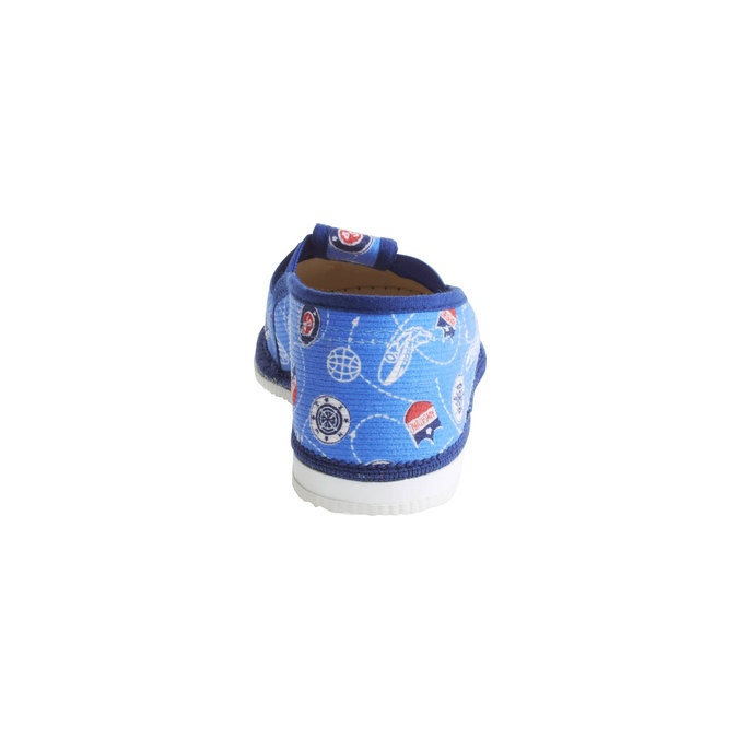 Kinder-Pantoffeln bata, Blau, 179-0105 - 17