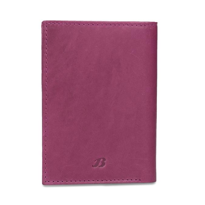 Lederetui für Zahlungskarten bata, Rosa, 944-5158 - 26