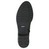 Schwarze Lederstiefel für Damen bata, Schwarz, 596-6604 - 19