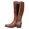 Damenstiefel aus Leder bata, Braun, 596-4608 - 19
