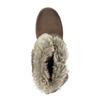 Damenstiefeletten mit Fell bata, Braun, 591-4601 - 19