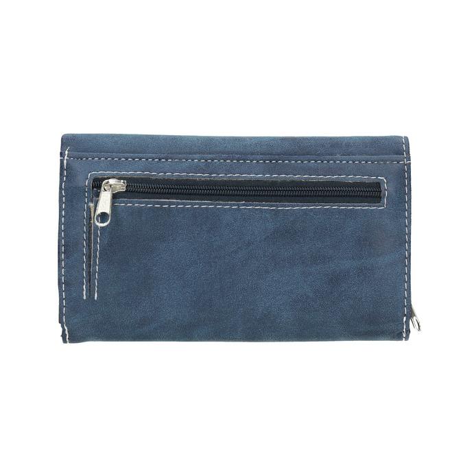 Blaue Damen-Geldbörse bata, Blau, 941-9153 - 19