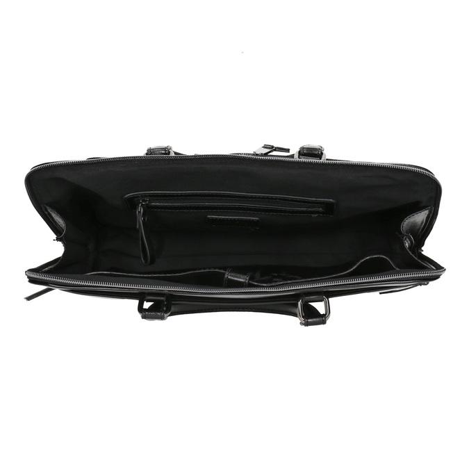 Elegante Tasche zum Tragen in der Hand bata, Schwarz, 961-6882 - 15