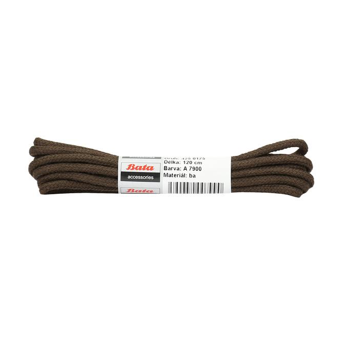 Braune, runde Schnürsenkel bata, Braun, 901-4124 - 13