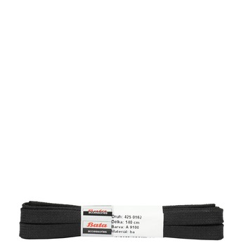 Breite, schwarze Schnürsenkel bata, Schwarz, 901-6140 - 13