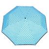 Blauer Taschenschirm mit Pünktchen bata, Blau, 909-9601 - 26