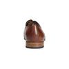 Lederhalbschuhe mit Muster bata, Braun, 826-3813 - 17