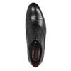 Schwarze Lederhalbschuhe im Oxford-Stil conhpol, Schwarz, 824-6868 - 19