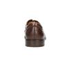 Braune Herrenhalbschuhe aus Leder bata, Braun, 826-4800 - 17