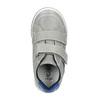 Kinder Leder-Sneakers mit Klettverschluss mini-b, Grau, 214-2600 - 19