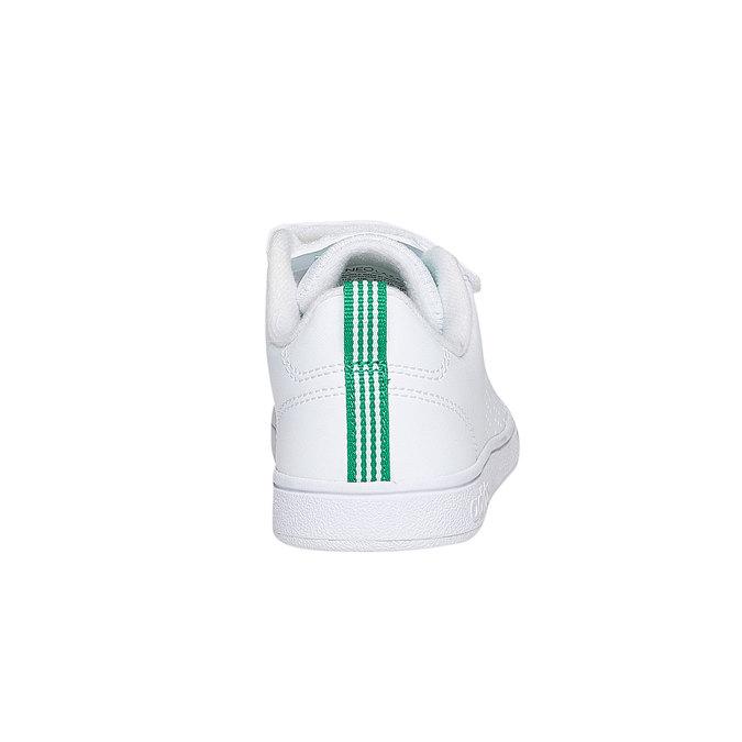 Weiße Kinder-Sneakers mit Klettverschluss adidas, Weiss, 301-1168 - 17