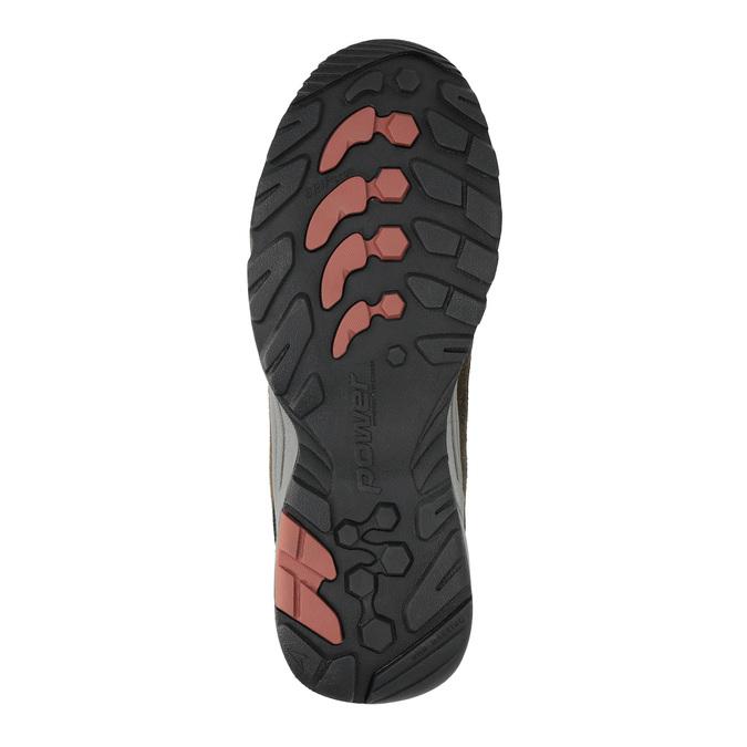 Outdoor-Schuhe aus Leder power, Braun, 803-4118 - 26