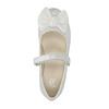 Mädchen-Ballerinas mit Schleife mini-b, Weiss, 321-1247 - 19