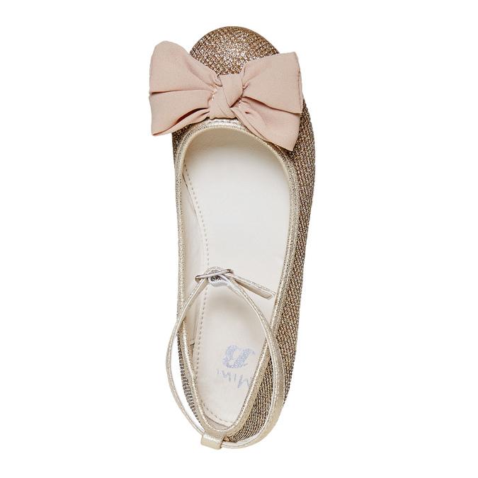 Mädchen-Ballerinas mit Schleife mini-b, Gold, 329-8241 - 19
