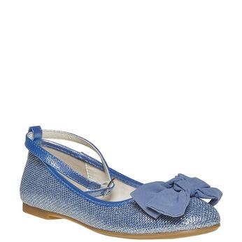 Blaue Mädchen-Ballerinas mini-b, Blau, 329-9241 - 13