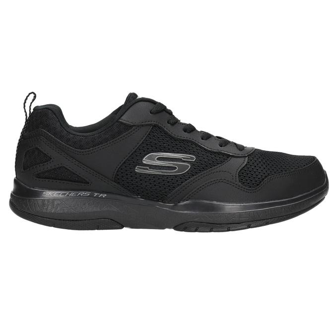 Herren-Sneakers mit Memory-Schaum skechers, Schwarz, 809-6141 - 15