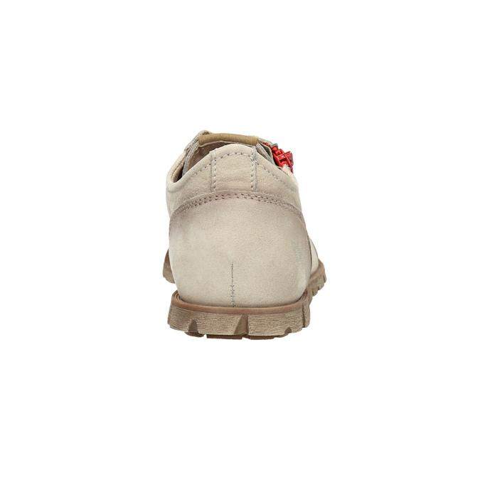 Lederhalbschuhe mit Reißverschluss weinbrenner, Beige, 546-8604 - 17