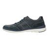 Legere Sneakers aus geschliffenem Leder bata, Blau, 846-9639 - 26