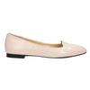 Ballerinas aus Leder bata, Rosa, 528-5630 - 15