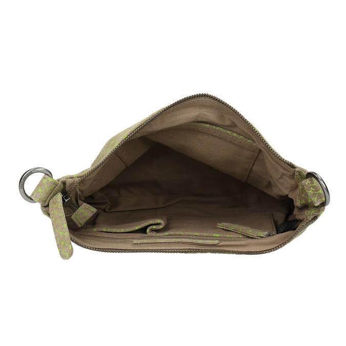 Damen-Crossbody-Handtasche aus Leder fredsbruder, Grűn, 963-7031 - 15