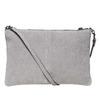 Crossbody-Handtasche aus Leder bata, Grau, 963-2135 - 26