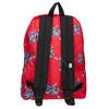Roter Rucksack mit Muster vans, Rot, 969-5093 - 26