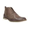 Knöchelschuhe aus Leder bata, Braun, 826-4600 - 13