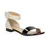 Sandalen aus Lackleder bata, Schwarz, 568-6606 - 13