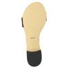 Sandalen aus Lackleder bata, Schwarz, 568-6606 - 26