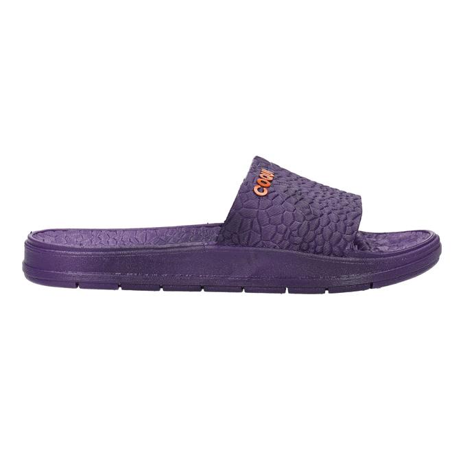 Violette Damenpantoletten coqui, Violett, 572-9609 - 15
