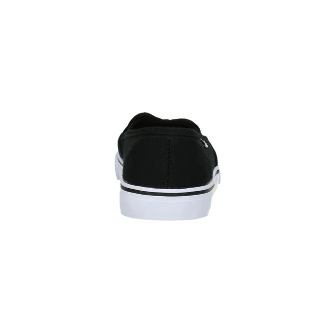 Schwarze Damen-Slip-Ons tomy-takkies, Schwarz, 589-6170 - 17