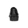 Schwarze Lederhalbschuhe fluchos, Schwarz, 824-6451 - 15