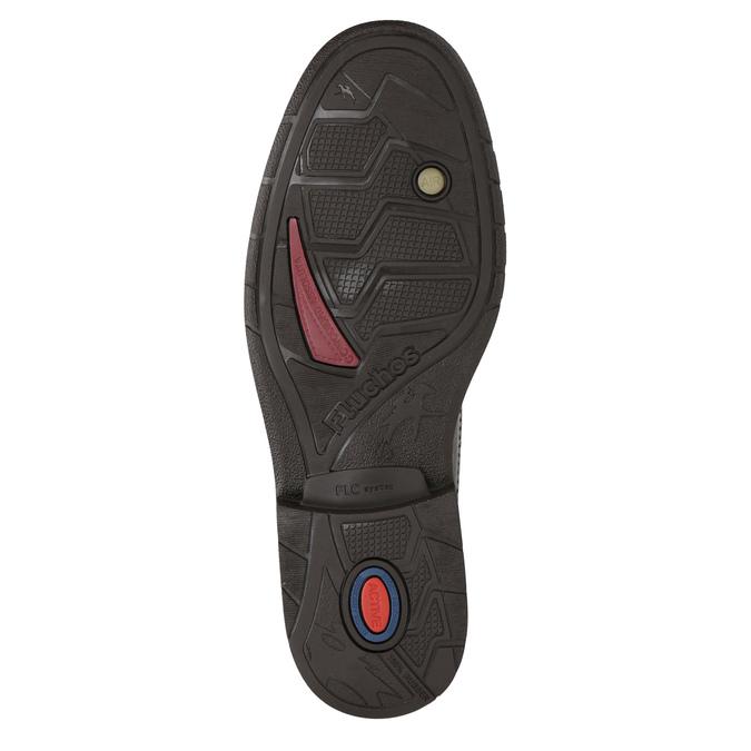 Knöchelschuhe aus Leder fluchos, Braun, 824-4450 - 19