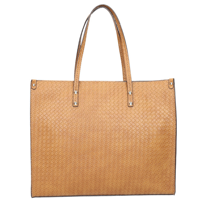 Handtasche mit geflochtenem Muster marie-claire, Braun, 961-3540 - 17