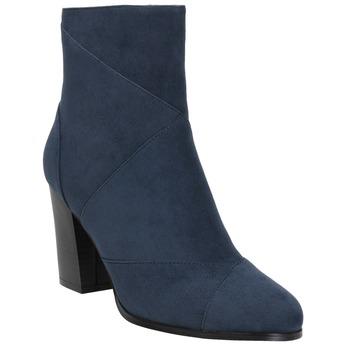 Blaue Damenstiefeletten bata, Blau, 799-9615 - 13