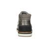 Graue Knöchelschuhe aus Leder bata, Grau, 826-2912 - 17