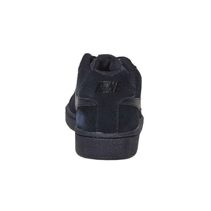 Herren-Sneakers aus Leder nike, Schwarz, 803-6302 - 17
