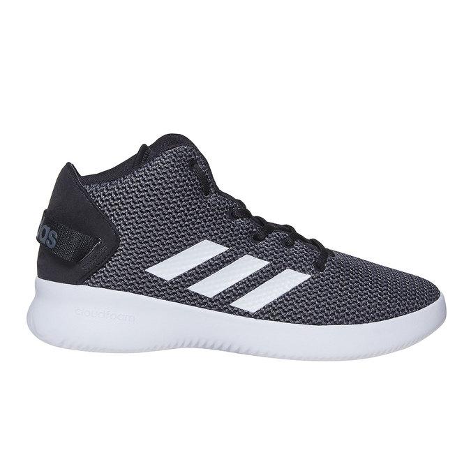 Knöchelhohe Herren-Sneakers adidas, Grau, 809-6216 - 15