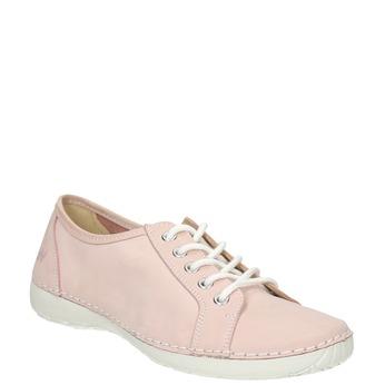 Damen-Sneakers aus Leder weinbrenner, Rosa, 526-5644 - 13