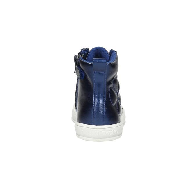 Blaue, knöchelhohe Kinder-Sneakers mini-b, Blau, 321-9610 - 17