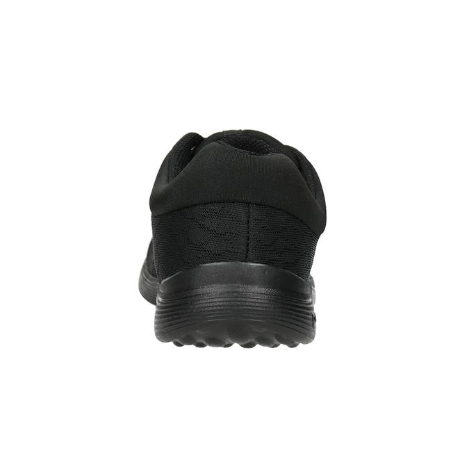 Schwarze Damen-Sneakers power, Schwarz, 509-6203 - 16
