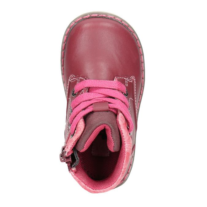 Knöchelschuhe für Mädchen bubblegummer, Rosa, 124-5601 - 26