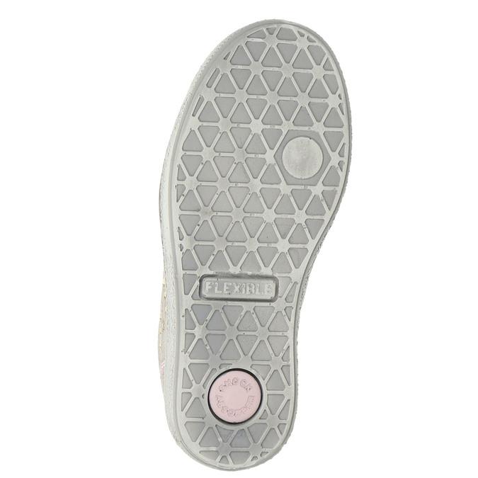Kinder-Sneakers aus Leder mit Zwecken mini-b, Rosa, 323-5173 - 19