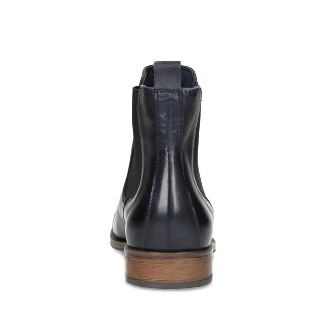 Damen-Chelsea-Boots aus Leder bata, Blau, 594-9636 - 15