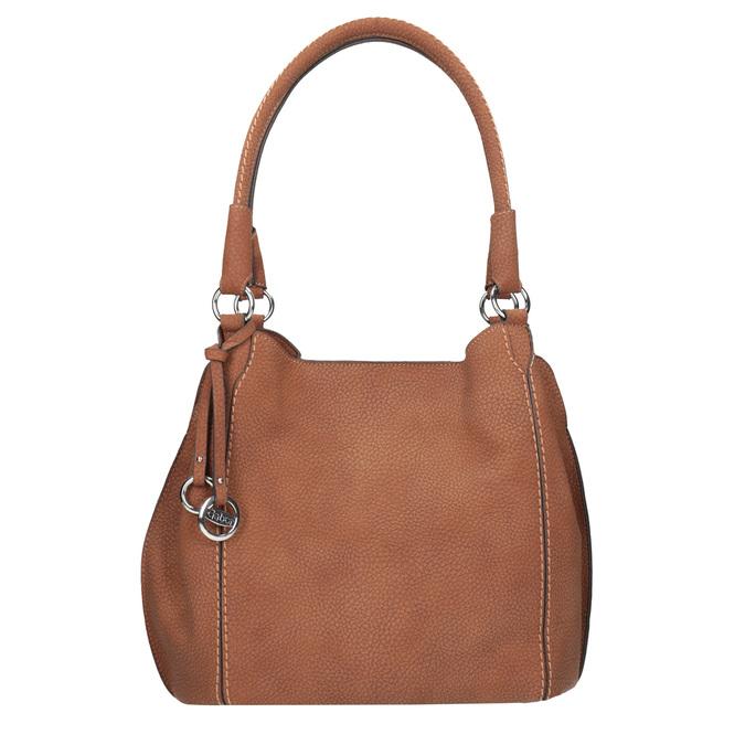Braune Damenhandtasche gabor-bags, Braun, 961-3049 - 26