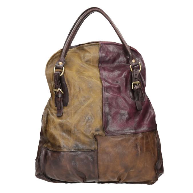 Damenhandtasche aus Leder a-s-98, mehrfarbe, 966-0061 - 26