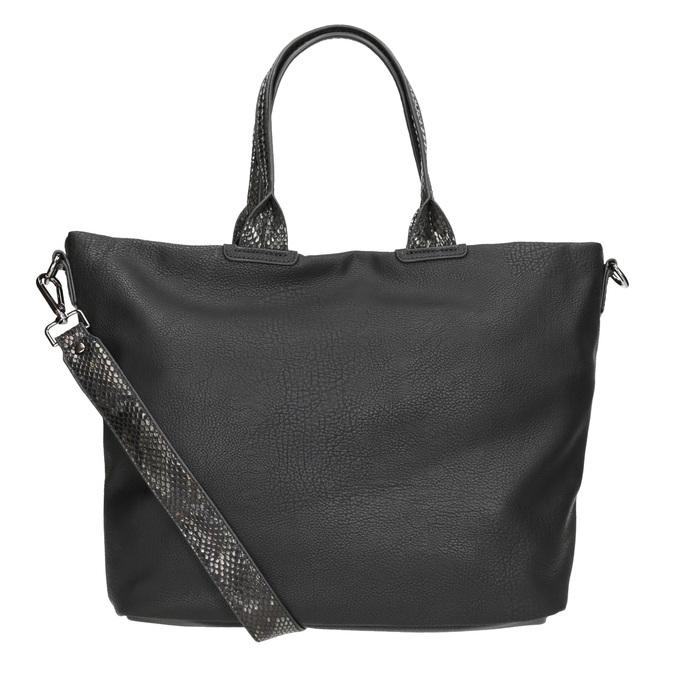 Schwarze Damenhandtasche gabor-bags, Schwarz, 961-6034 - 16