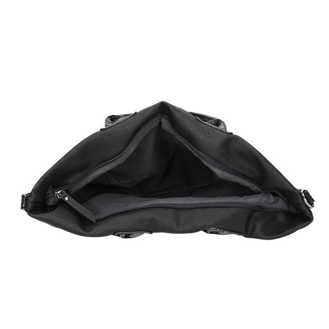 Schwarze Damenhandtasche gabor-bags, Schwarz, 961-6034 - 15